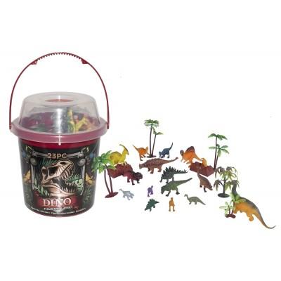 Dinosaurierfiguren im Eimer - Wild Republic
