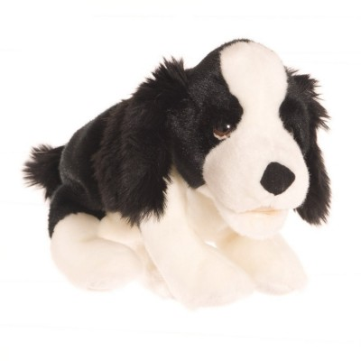 Kleiner Hund schwarz-weiß - Living Puppets