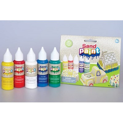 Sand Paint Grundfarben 5er Pack (REST)