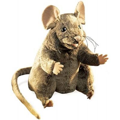 Braune Maus - Folkmanis (REST)