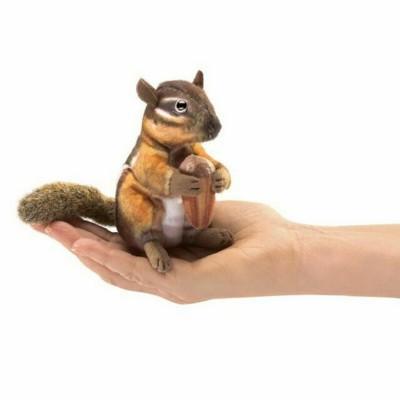 Streifenhörnchen - Fingerpuppe (REST)