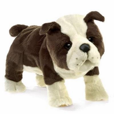 Englische Bulldogge - Folkmanis