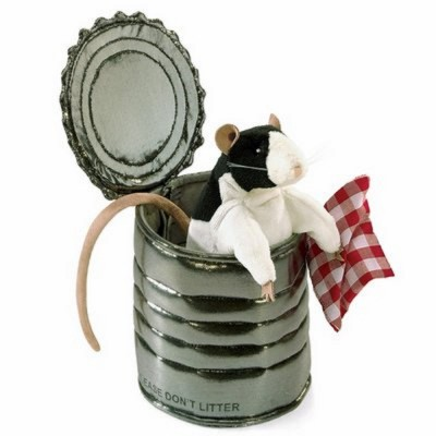 Ratte in der Dose - Folkmanis