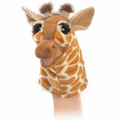 Kleine Giraffe für die Puppenbühne - Folkmanis