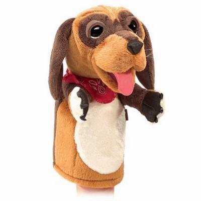 Hund für die Puppenbühne - Folkmanis