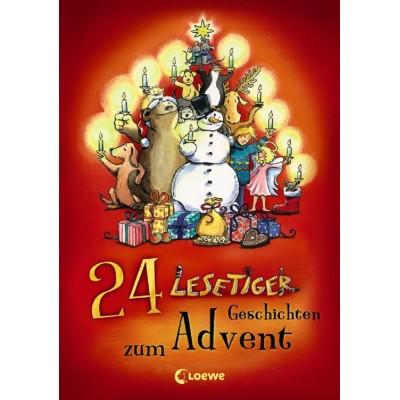 24 Lesetiger-Geschichten zum Advent (REST)