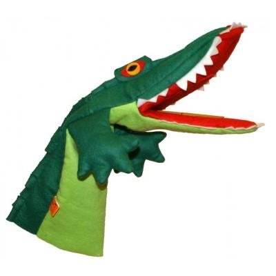 Krokodil mit Klapper im Maul - Trullala