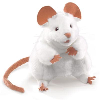 Weiße Maus - Folkmanis