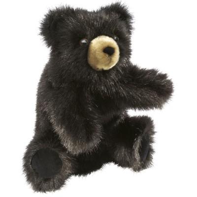 Schwarzer Baby Bär - Folkmanis