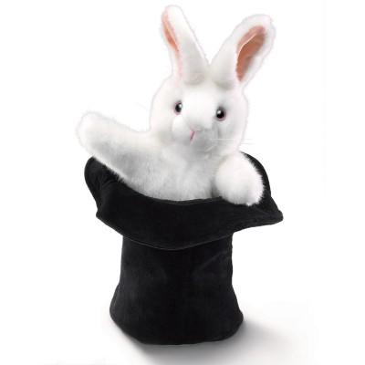 Großes Kaninchen im Hut - Folkmanis