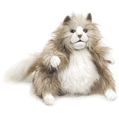 Flauschige Katze - Folkmanis