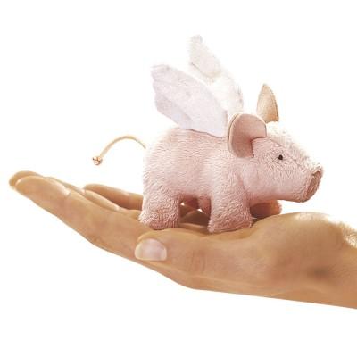 Schwein mit Flügeln - Fingerpuppe