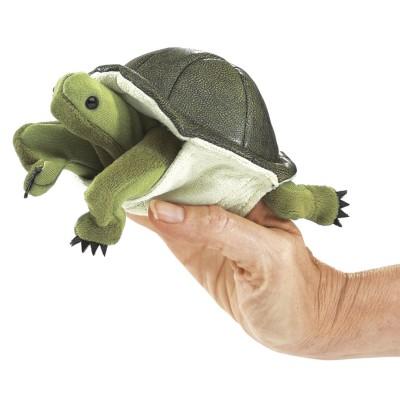 Schildkröte - Fingerpuppe