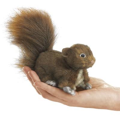 Eichhörnchen - Fingerpuppe