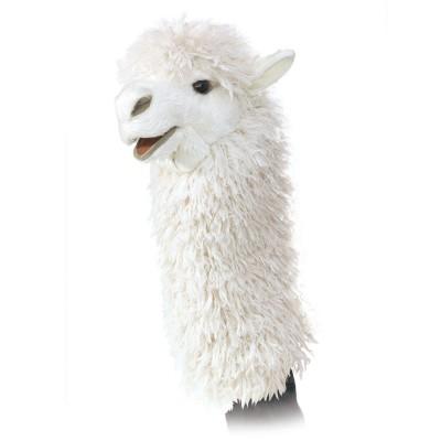 Alpaka für Puppenbühne - Folkmanis