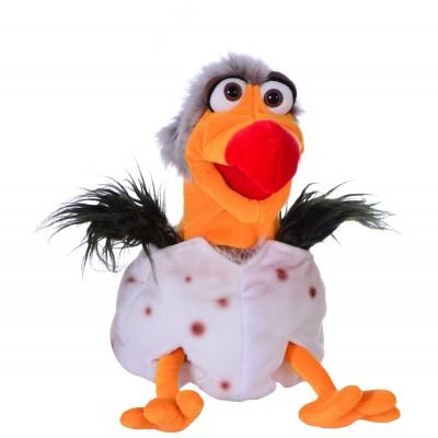 Alfonso, der Geier im Ei - Living Puppets