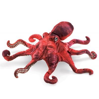 Roter Oktopus - Folkmanis