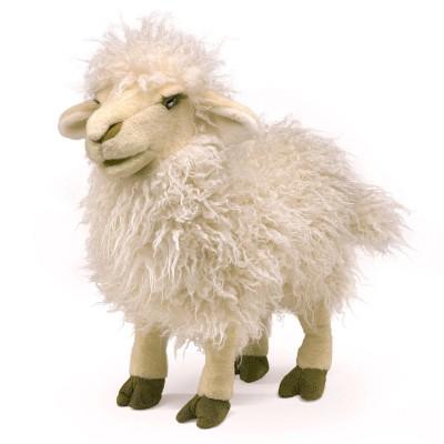 Schaf, langes Fell - Folkmanis